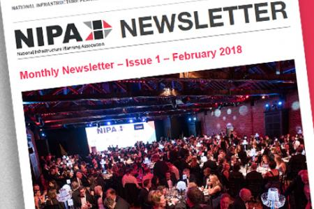 Monthly newsletter – issue 1 – February 2018