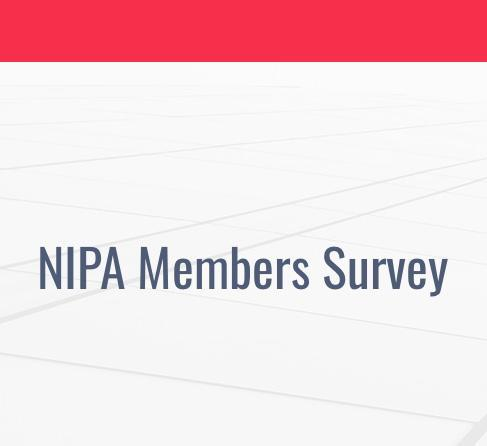 LATEST: NIPA SURVEY REPORT SUBMITTED TO GOVERNMENT AND PUBLISHED